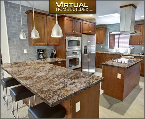 Virtual Kitchen Color Designer | virtual kitchen designer visualize kitchen countertops