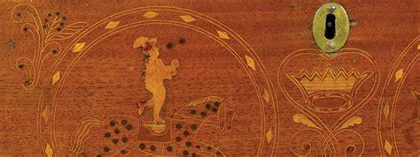 Piero Gio Sulphur Black Sulphur inlaid miniature chests of the philadelphia circus ca