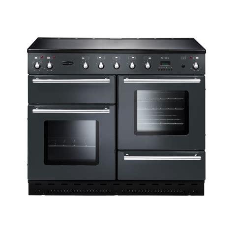 electric induction range cookers rangemaster toledo 110 electric induction range cooker gunmetal grey