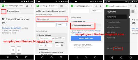 Google Play Gift Card Google Wallet - cara menukar redeem google play gift card ke google play di indonesia