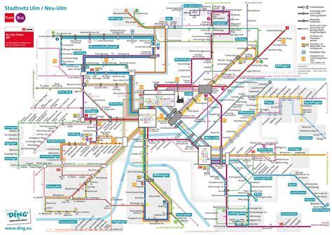 transport map ulm transport map