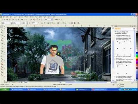 corel draw x7 remove background corel draw tutorials for coreldraw x5 removing a