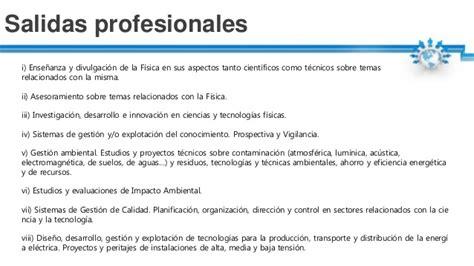 salidas profesionales f 237 sica qu 233 es qu 233 estudia salidas profesionales tasa