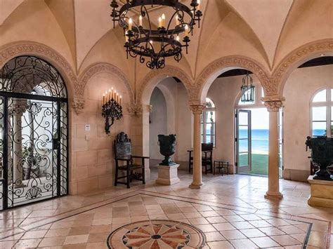 Colonial Home Interiors Palm Beach Mansion Lists For 30 Million