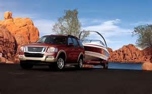 Ford Explorer Towing 2010 Ford Explorer Eddie Bauer Towing View 115243 Photo 3