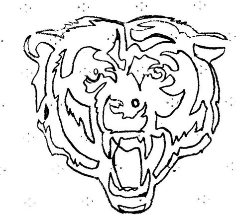 chicago bears symbol pictures az coloring pages