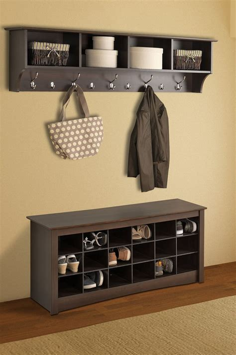 Entryway Shoe And Coat Storage 25 Best Ideas About Shoe Racks On Diy Shoe