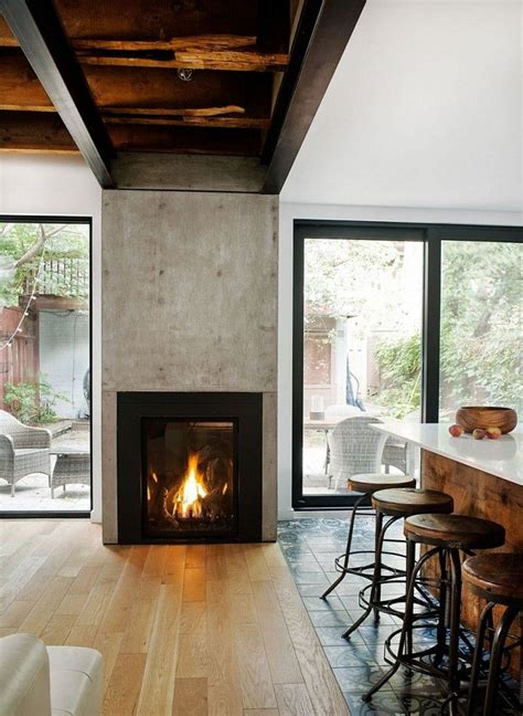 glass doors for wood burning fireplace wood burning fireplace designed between glass sliding