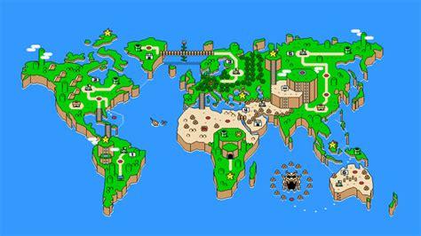 mario world map mario s world kotaku australia
