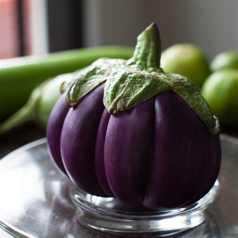 Squishy Licensed Purple Eggplant Original file segmented aubergine thailand jpg