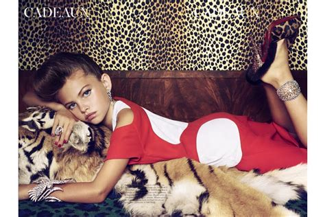 child nudez too young to model 6 year old models in french vogue