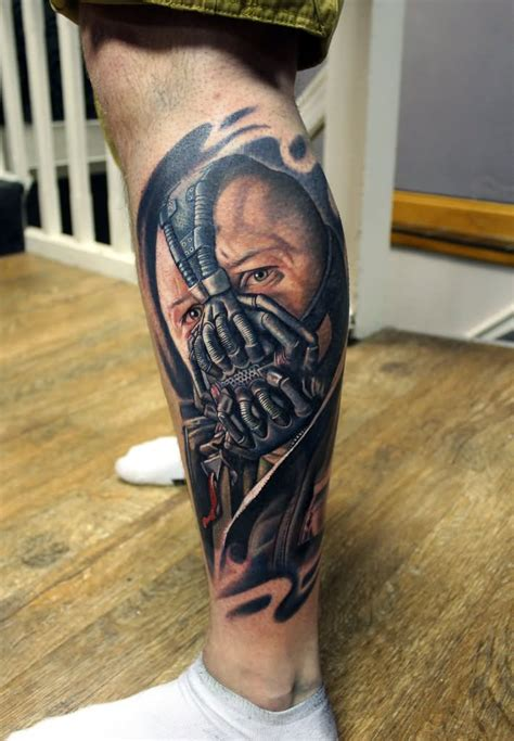 bane tattoo 29 mind blowing bane tattoos
