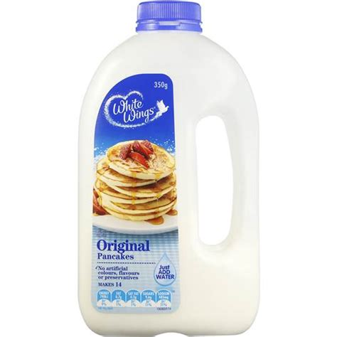 Mixing White Original white wings original pancakes mix 350 g ifmal warehouse
