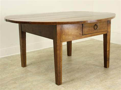 Antique Oval Cherry Coffee Table At 1stdibs Oval Cherry Coffee Table
