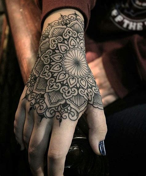best tattoos for men on hand mandala mandala and