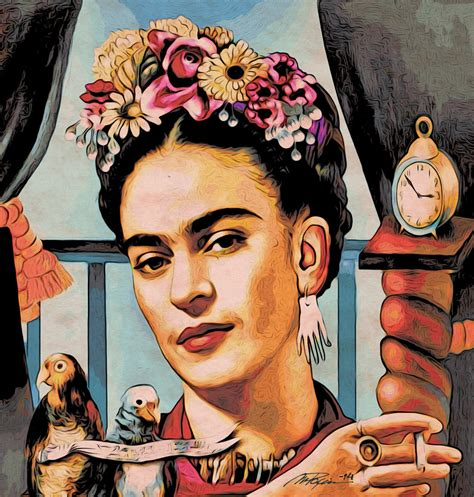frida kahlo serie 1c 75x75 max paris by maxxparis on
