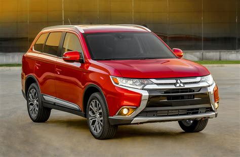 mitsubishi suv outlander 2016 2016 mitsubishi outlander news and information