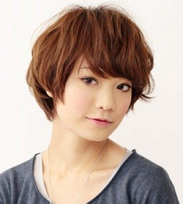 japan hairstyle for round face the japanese short hair and a clever mix of a variety of