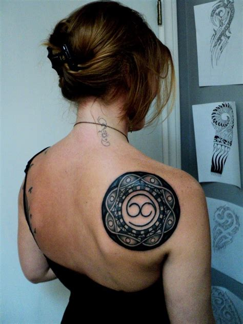 Back Shoulder Tattoos Designs Ideas And Meaning Tattoos Back Of Shoulder Tattoos For