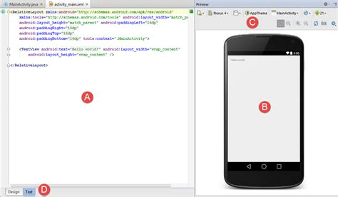 android studio layout design tool a guide to the android studio designer tool techotopia