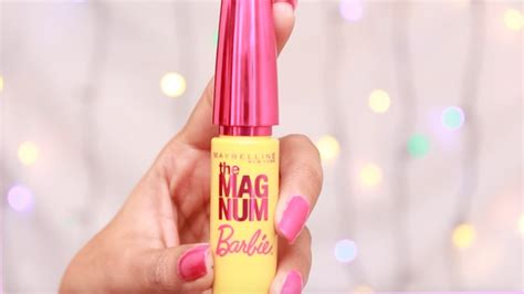 Maybelline Mascara Berbie maybelline the magnum mascara review demo