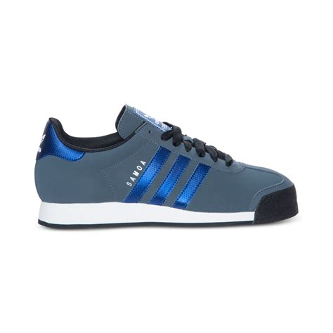 adidas sneakers mens lyst adidas samoa sneakers in blue for
