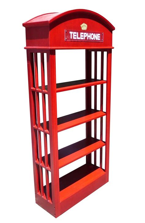 hardwood finish telephone booth bookcase display