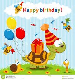 birthday turtle stock photos image 34122763