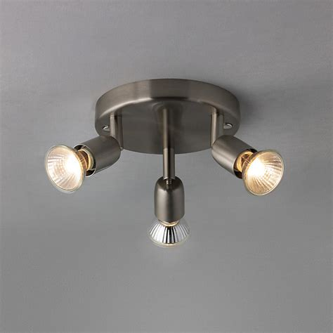 the basics keely 3 spotlight ceiling plate modern spot