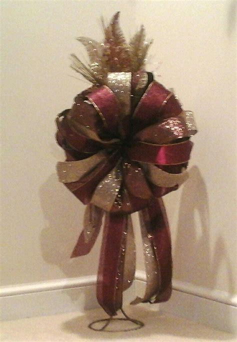 luxury christmas tree toppers tree topper bow large luxury tree bow bronze gold world decor