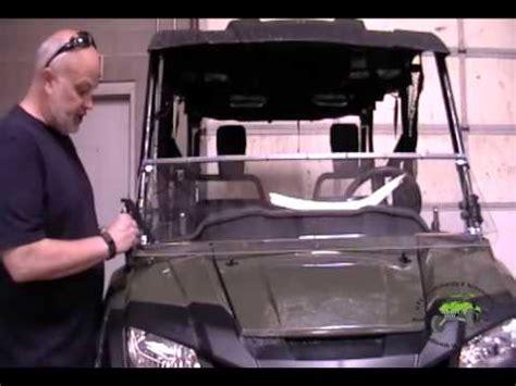 installation tutorial for a pioneer 700 | utv windshields