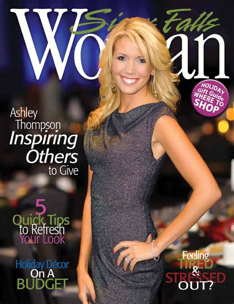 sioux falls woman magazine holiday   sioux falls