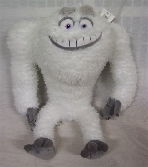 disney monsters  abominable snowman yeti  plush