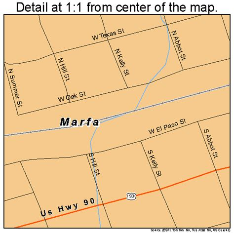 where is marfa texas map marfa texas map 4846620