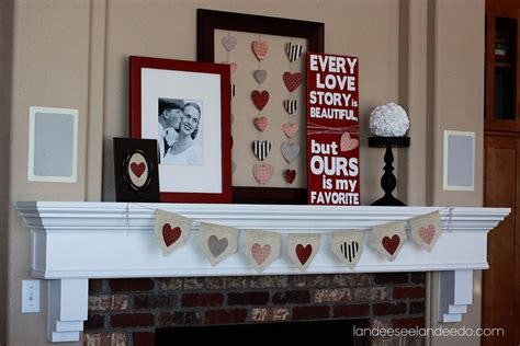 valentines home decor handmade s craft for easy valentine decorating easy