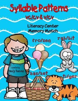 vv pattern spelling words 17 best images about vccv pattern on pinterest 3rd grade