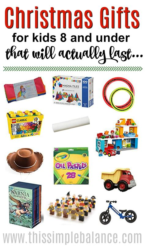 gifts for kids under 10 timeless christmas gifts for kids under 8 years old this