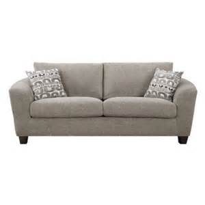 Walmart Sofa Pillows Urbana Sofa With 2 Pillows Color Bone Walmart
