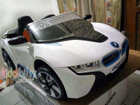 Motor Aki Anak Anak Bmw R12 Junior bmw i8 lisensi mobil aki mainan kiddibitsy