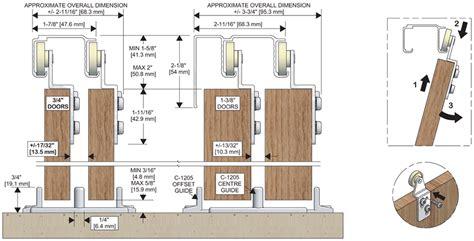 Drawing Sliding Doors On Floor Plan by Sliding Door Track C 2025