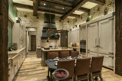 Tuscan Style Dining Room Furniture 24 incredible custom kitchen designs pictures by top