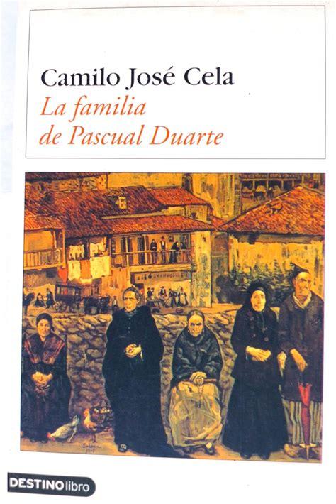 la familia de pascual duarte pdf libro la familia de pascual duarte camilo jos 233 cela novela bs 22 351 00 en mercado libre