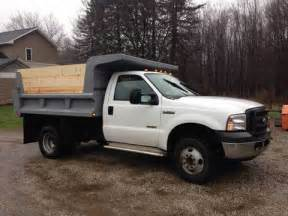 2000 ford f550 4x4 one ton 12 ft. dump truck #5813.l from