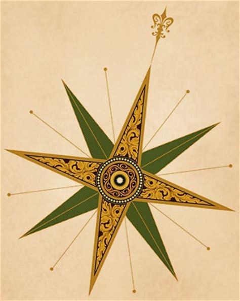 compass rose tattoos symbolism  designs