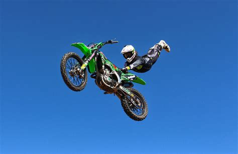 freestyle motocross riders airtime trickery with billett freestyle motocross
