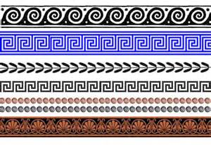 Greek Vase Pattern Ancient Greek Pottery Vase Design Resources Tes