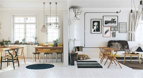 scandinavian apartment white wood flooring is bright and right decoholic