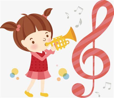 imagenes niños tocando instrumentos musicales chica tocando instrumentos musicales ilustrador de los