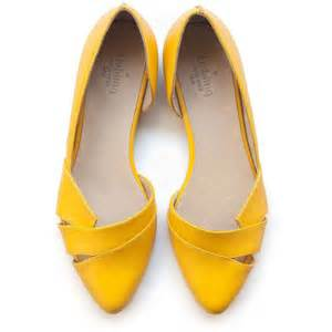 Yellow Shoes 17 Best Ideas About Yellow Flats On Yellow