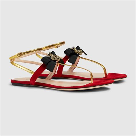 gucci womens sandals gucci suede sandal 408336bj8n08081